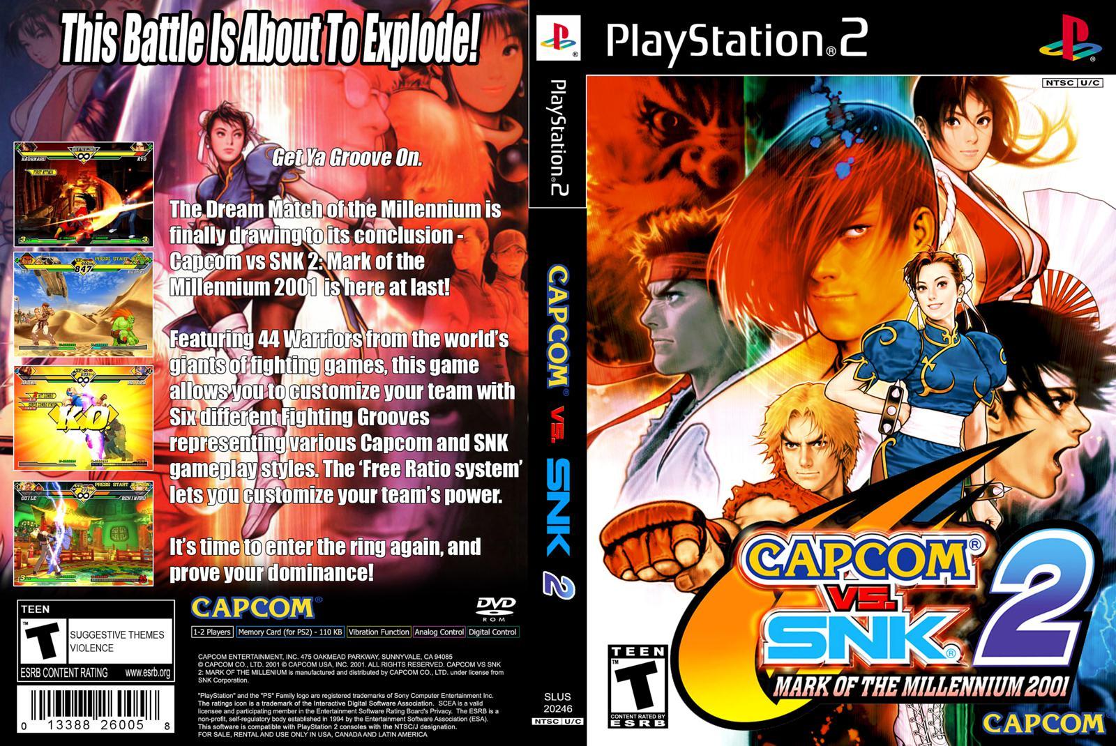 CAPCOM SNK PARA VS PSP BAIXAR