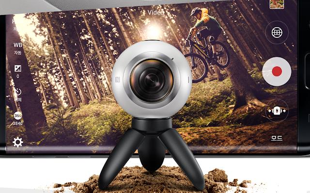 أتاحة شركة سامسونج كاميرا جير 360 للبيع على موقعها