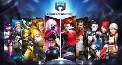 Heroes Of Warfare v0.1.1.001 Apk Latest Full Terbaru