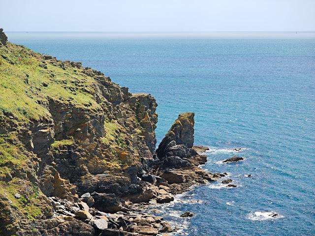 Cornwall Coast Dodman Point