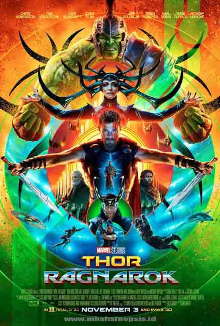 Download Film Thor 3 : Ragnarok (2017) Bluray Subtitle Indonesia MP4 MKV 480p, 720p, 1080p, 2160p