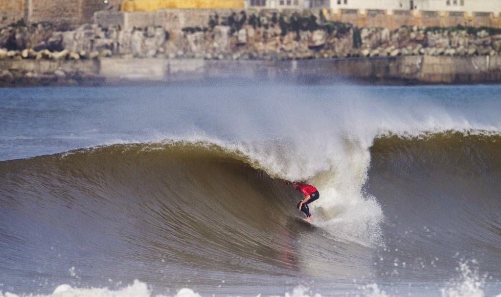 71 2014 Moche Rip Curl Pro Portugal Kolohe Andino Foto ASP Damien Poullenot Aquashot