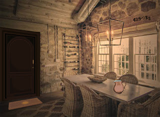 Juegos de Escape - Modern Stone Age House Escape