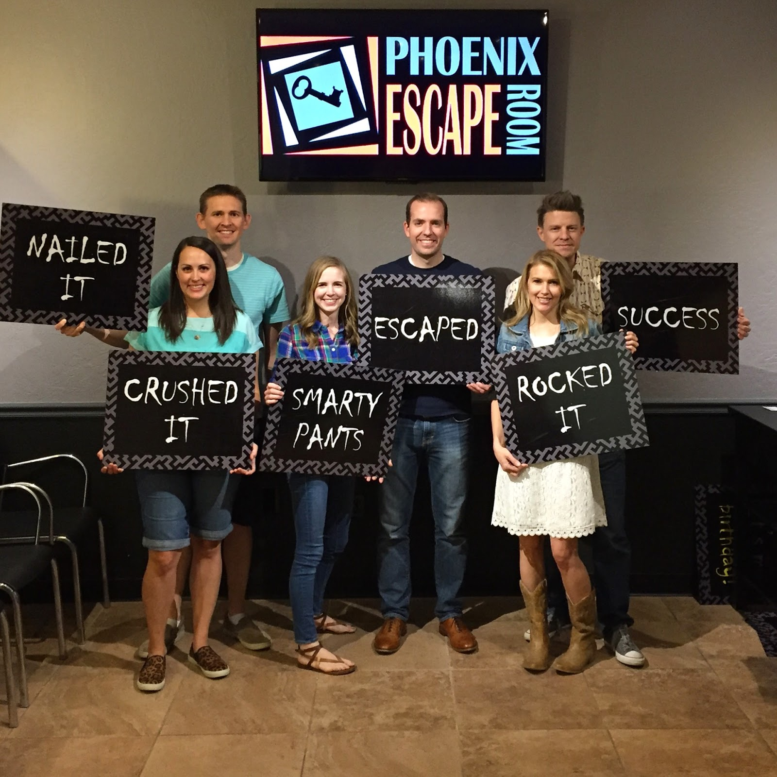 Have you tried out an escape room? It's such a fun date or group outing!