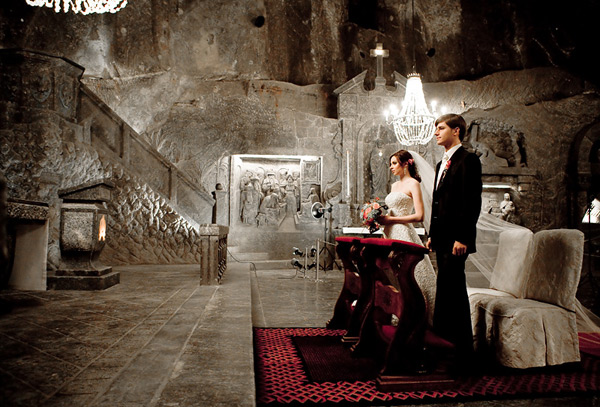 Chapel of the Wieliczka Salt Mine wedding