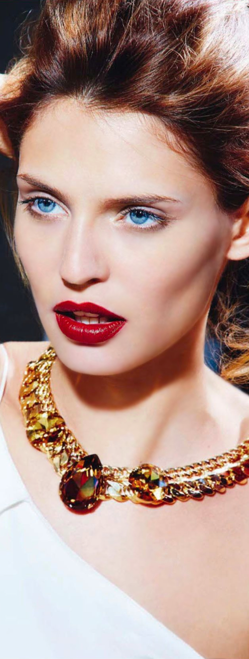 BIANCA BALTI for Vogue Italia A Cinematographic Beauty meets Young Talents