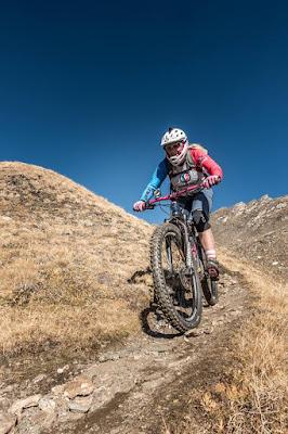 MTB Wilde Kreuzspitze Mountainbike Tour Brixen Südtirol Pfunderer Berge Pustertal