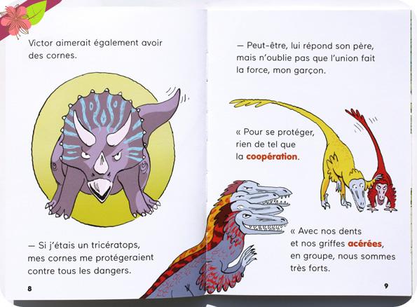 Cours, petit dino ! de Benoît Broyart et Claire de Gastold - Docs Benjamin - éditions Milan