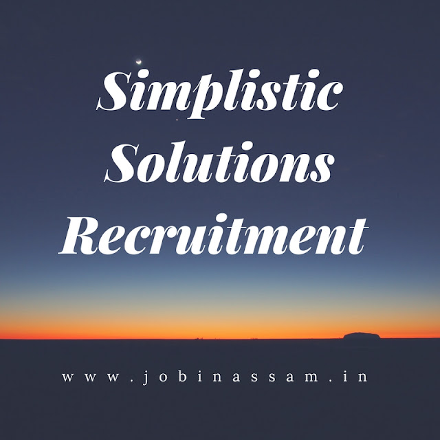 Simplistic Solutions Recruitment - Android App Developer in Guwahati