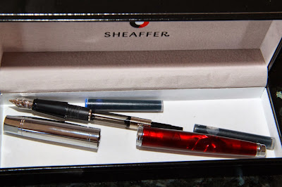 Sheaffer Fountain and Rollerball set