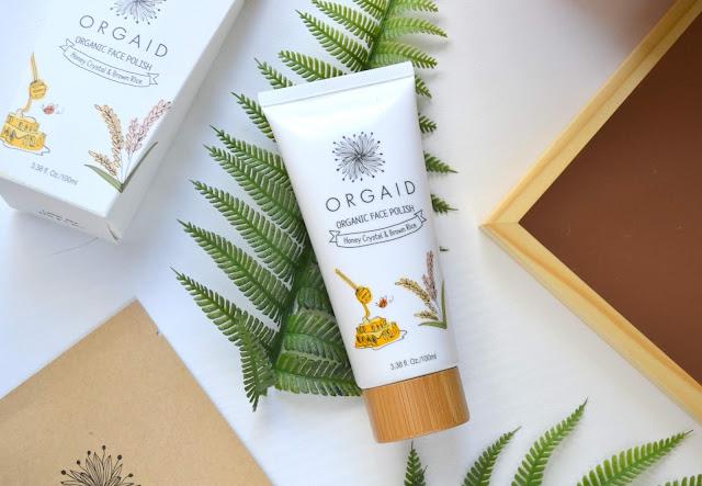 ORGAID Organic Sheet Mask and Face Polish Review
