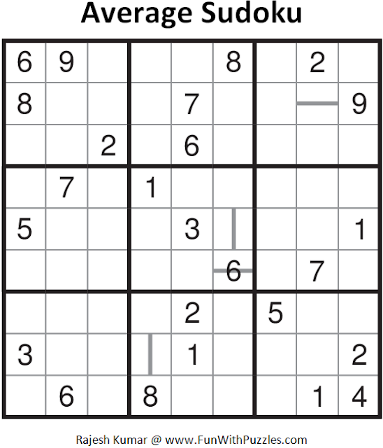 Average Sudoku (Fun With Sudoku #94)