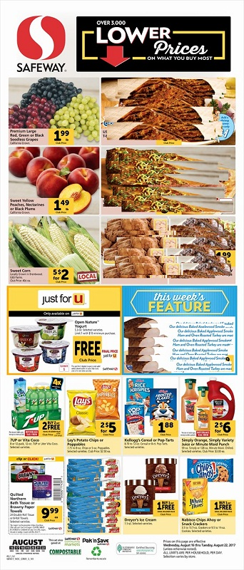 Safeway Weekly Ad Grocery Stores Grocery Weekly Ads