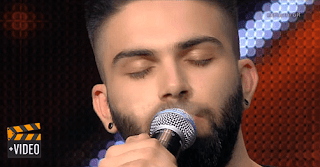 Κύπριος Λέοντας, X Factor, Τραγούδησε Παντελίδη.