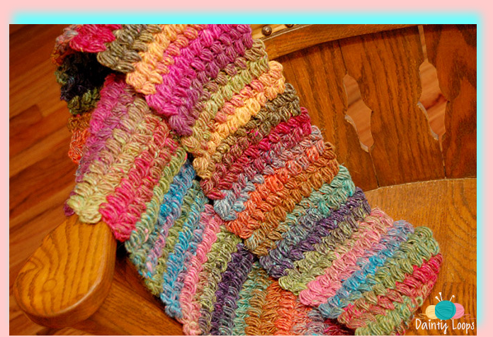Punto Crochet Abultado Puff Stitch Video Tutorial