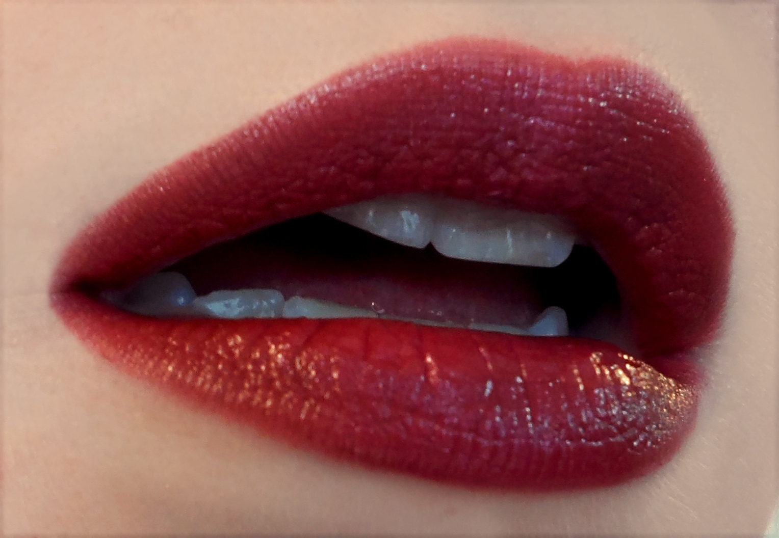 Deep Maroon Colour Lipstick