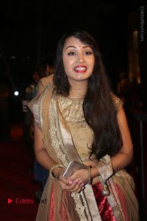 Actress Vennela Stills in Lehenga Choli at Gemini TV Puraskaralu 2016 Event  0023.JPG