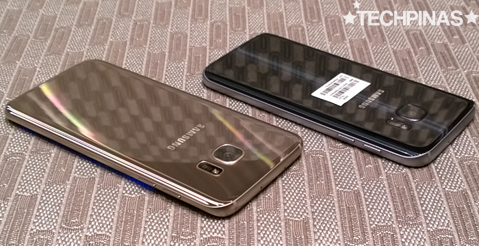 Samsung Galaxy S7 Edge vs Samsung Galaxy S7, Mark Milan Macanas