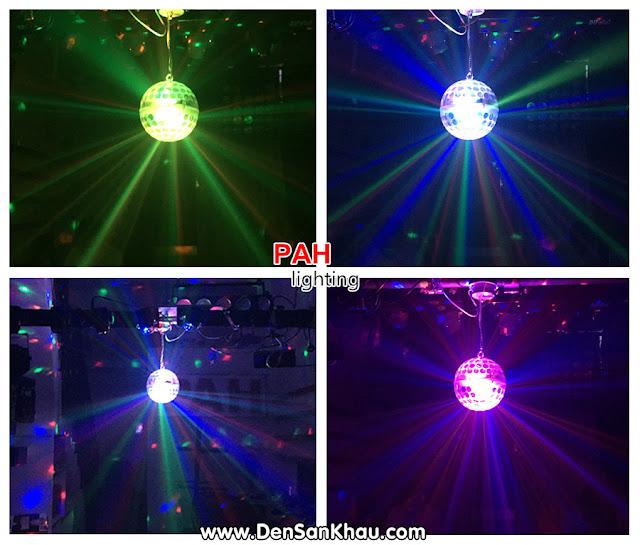 Thiết kế bóng led đèn trái châu 2 mặt tạo nên ánh sáng kép.