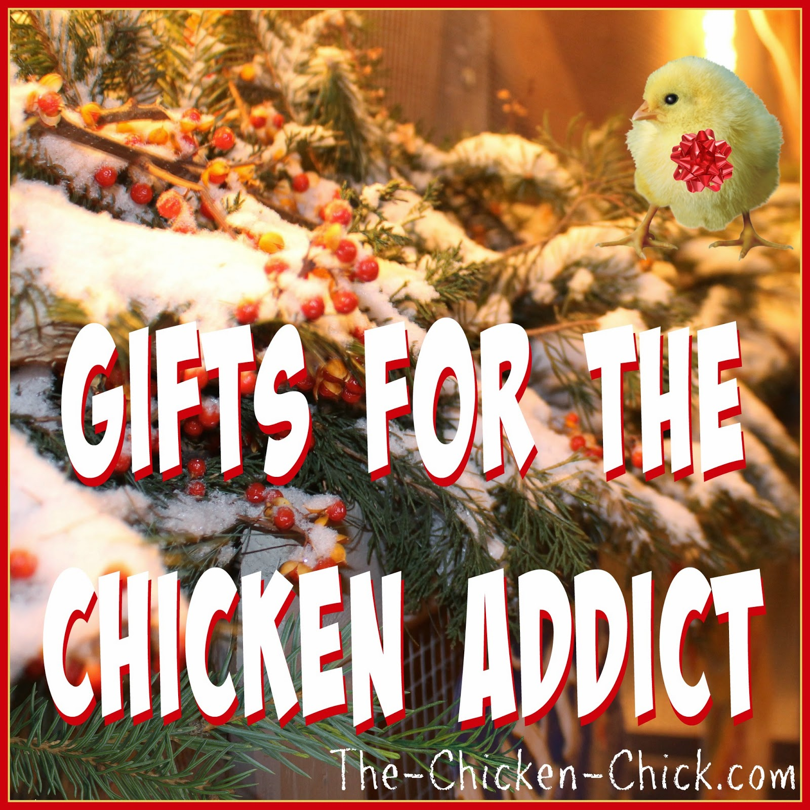 "Friends and relatives of chicken addicts don't always ""get"" the whole chicken-keeping thing, but there are many products that would be tremendously valuable to the chicken keeper in their lives, which would be wildly appreciated as a gift, so I've rounded up some of my favorite things in the helpful, practical and/or fun and frivolous categories. I hope they help!"
