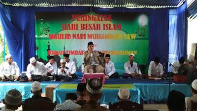 Maulid Nabi Muhammad dan Khaul Simbah Kyai Abdurrohman Dukuh Keborangan Desa Girigondo