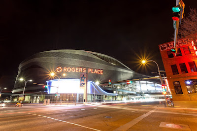 Rogers Place Edmonton by Laurence Norah-2