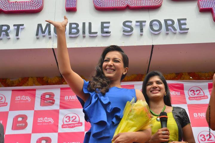 Catherine Tresa launches B New Mobile Store at Eluru
