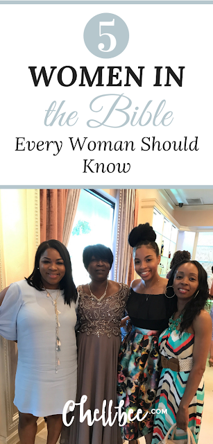 Bible study for women | 5 Women in the Bible every Woman Should Know. These easy to read women in bible scripture are worth taking the time to get to know. #bibleverse  | #scripture | #scripturestudy | Women bible study ideas