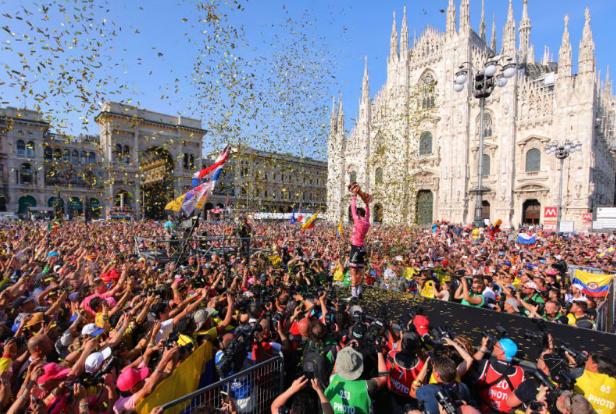 UCI Cycling Calendar 2018, dates, venues, Giro d'Italia