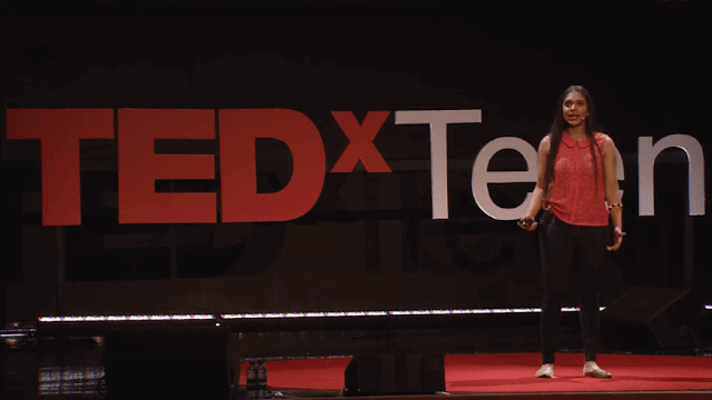 Trisha prabhu at tedx teen cyber bullying