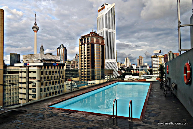 Hotel review kuala lumpur pacific express hotel - Rooftop swimming pool kuala lumpur ...