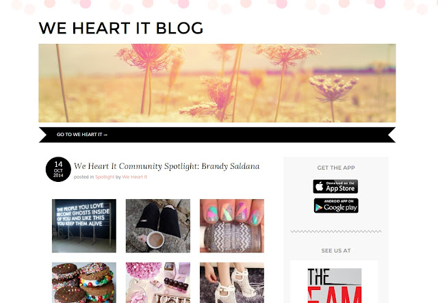 WE HEART IT Community Spotlight Interview
