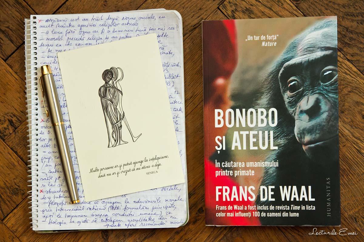 recenzie carte Bonobo și ateul de Frans de Waal
