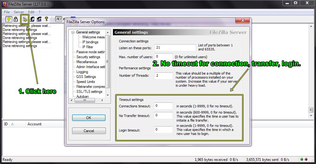 How To Create Local FTP Server in Windows 7 (FileZilla