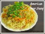 Mixed VegetablesAmerican Chopsuey