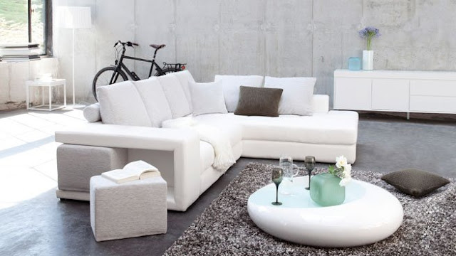 Leather Living Room Furniture For Contemporary Room Ideas