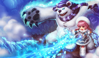 Chinese Frostfire Annie Skin League of Legends Wallpaper