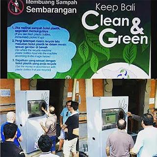 Mesin yang bikin orang indonesia sadar akan perilaku membuang sampah sembarangan