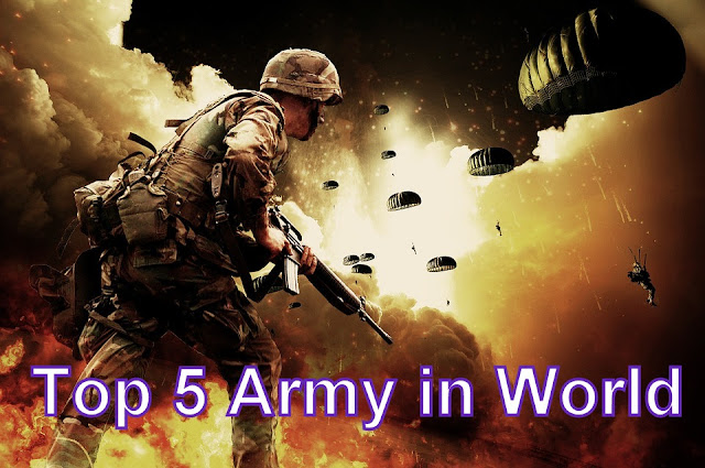 Top 5 Army in the World