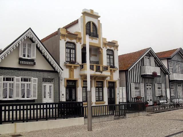 costa de Aveiro y sus casas