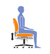 Adjust Your Office Chair Height Properly