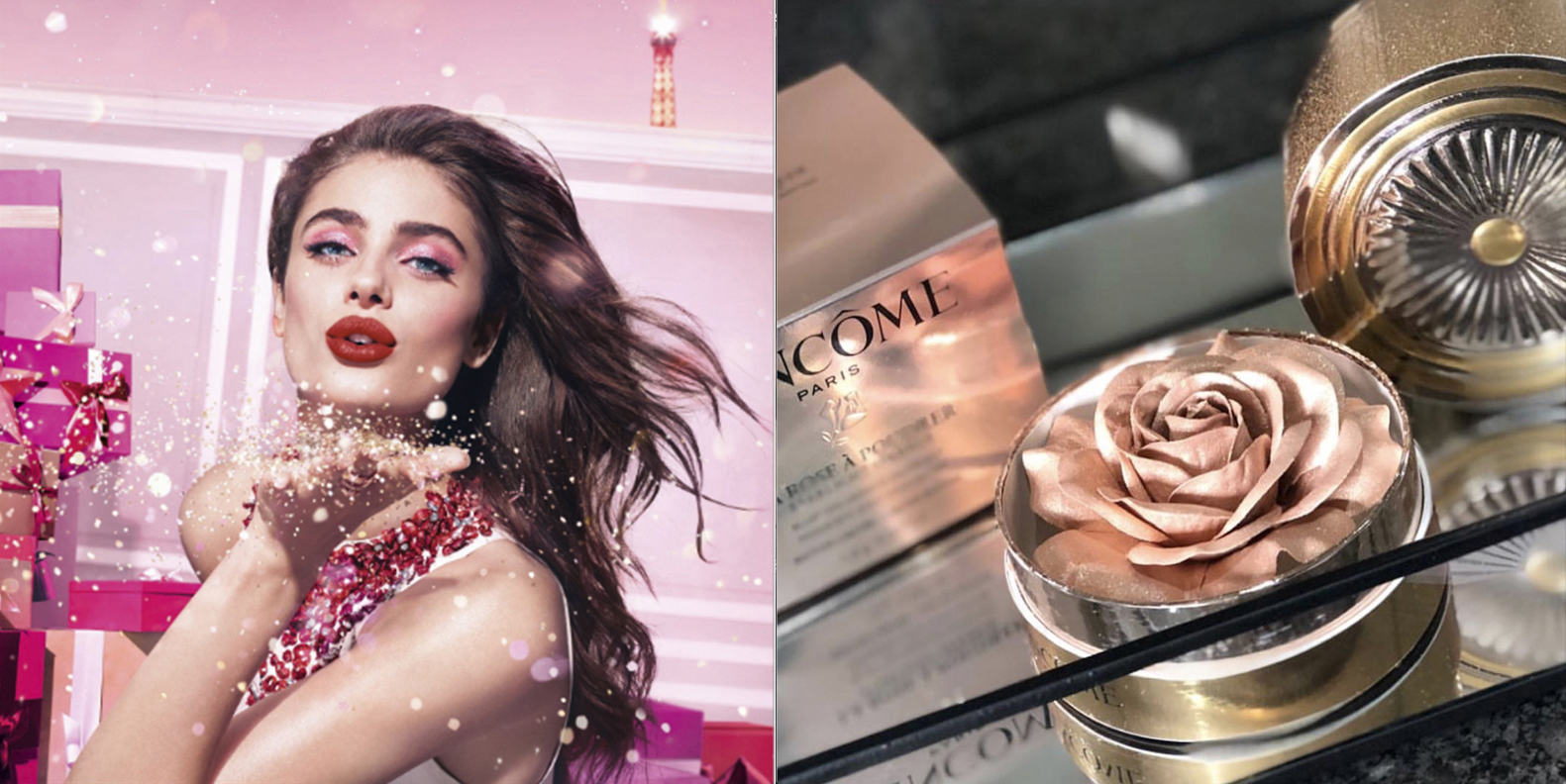 STARLIGHT SPARKLE ,COLLECTION MAQUILLAGE NOEL 2018,  LANCÔME , LANCÔME FRANCE , HYPNÔSE DRAMA , ABSOLU ROUGE , LA ROSE À POUDRER LUMIERE D'ÉTOILE , ,ROSEMADEMOISELLE , ROSE MADEMOISELLE, BLOG BEAUTÉ , PARIS , BELGIQUE , REVUE , AVIS ,