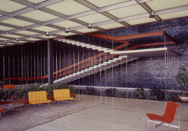 General Motors Technical Center in Michigan | Eero Saarinen | 1955