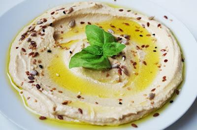 Receta de cocina casera paso a paso de Hummus o Crema de garbanzos