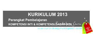 Download KI dan KD SD Kurikulum 2013 Gratis