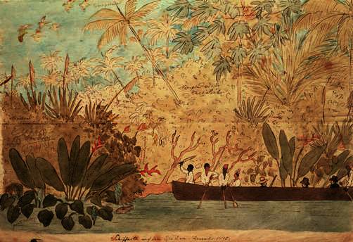 Viagem no rio Doce, Dezembro de 1815.