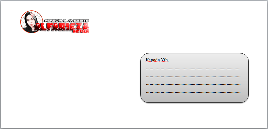 Format-Amplop-Surat