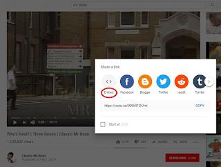 Cara Share Link Video Youtube ke Blogger dan Facebook