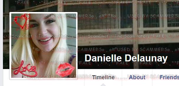 Danielle delaunay real name
