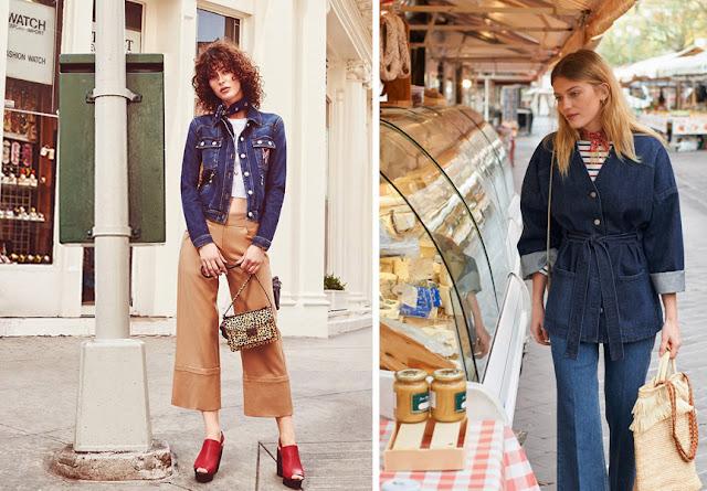 Девушки в шейных платках и джинсовках